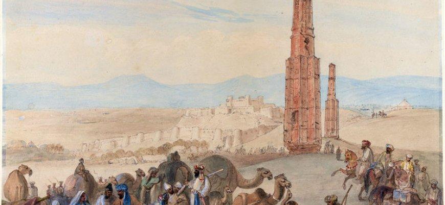 Afganistan'da tarihi kule çöktü