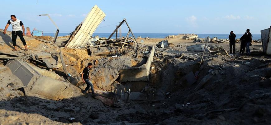 Gazze'den İsrail'e roket atıldı, İsrail Gazze'yi vurdu