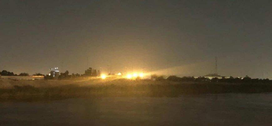 Bağdat'ta ABD Büyükelçiliği yakınlarına füze düştü
