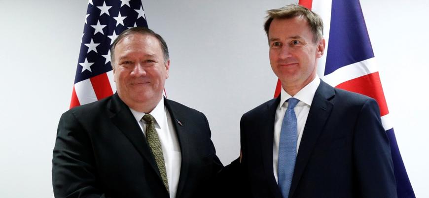 İngiltere'den ABD'ye destek: 'Sorumlu İran'