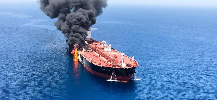 ABD: İran tankerlerden önce İHA'mıza saldırdı