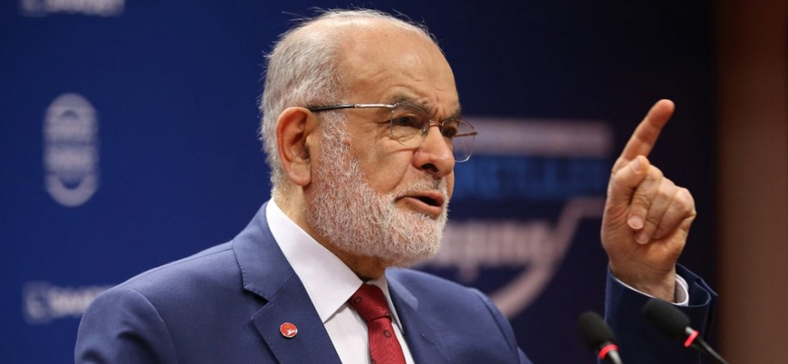 Saadet Partisi lideri Karamollaoğlu: Amerika'ya güvenmiyorum