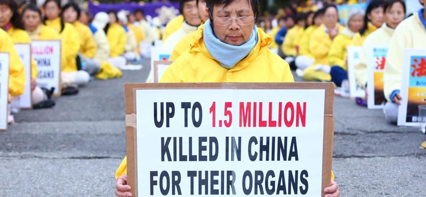 """""""Çin Falun Dafa üyelerini öldürüp organlarını satıyor"""""""