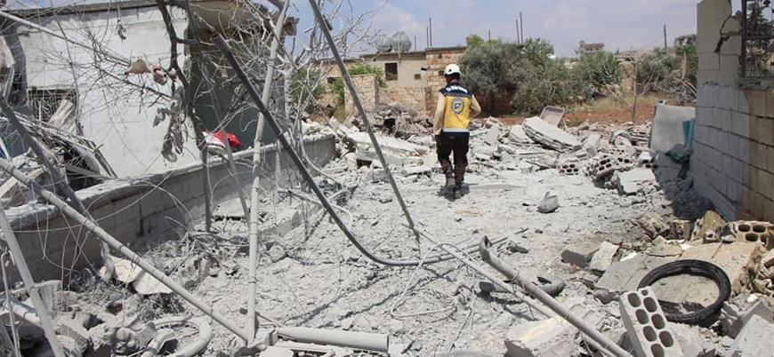 Rusya ve Esed rejiminden İdlib'de hava saldırısı: 2'si çocuk 5 sivil öldü