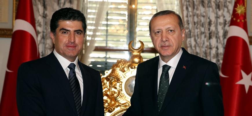 Barzani Erdoğan ile görüşmek üzere İstanbul'a geldi