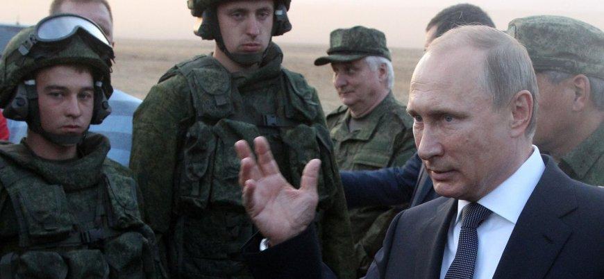 Putin: Rus güvenlik şirketleri Suriye'de faaliyete başladı