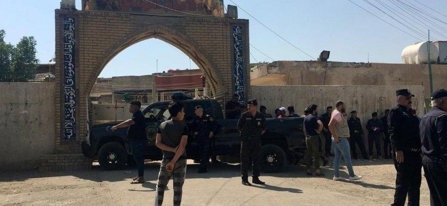 Irak'ın başkenti Bağdat'taŞii mabedine canlı bomba saldırısı