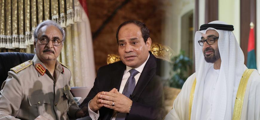 BAE ve Mısır'dan Libya'da Hafter'e askeri destek
