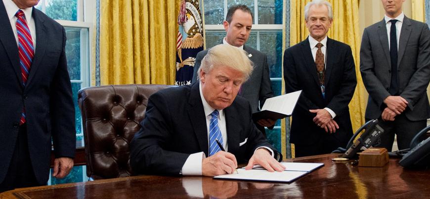 ABD'den İran lideri Hamaney'e yaptırım