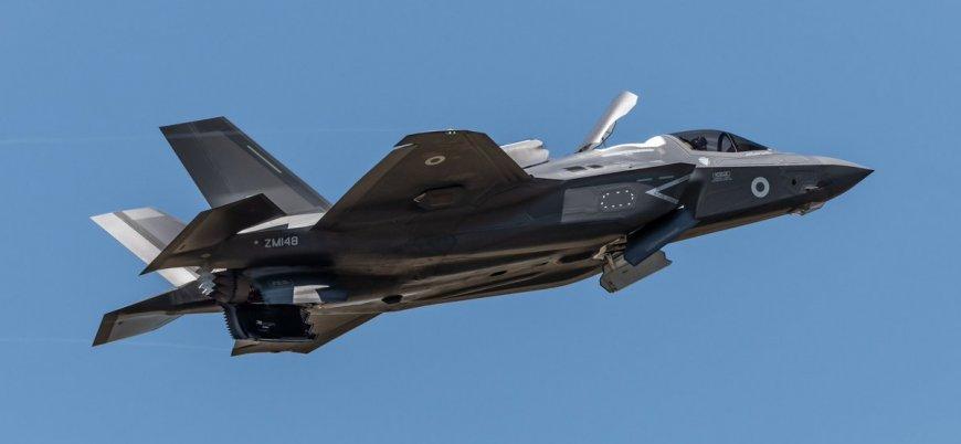 Kıbrıs'ta konuşlu İngiliz F-35'leri Irak ve Suriye'de uçuşlara başladı