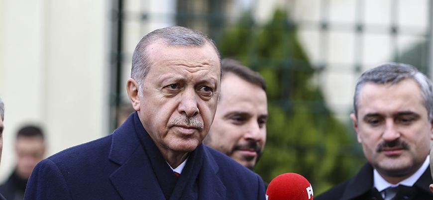 Erdoğan'dan kabine revizyonuna ilişkin açıklama