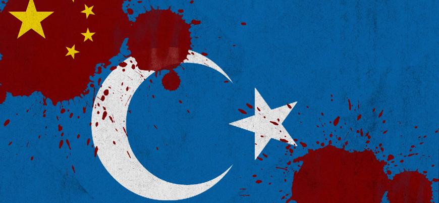 Çin'in Doğu Türkistan'da Uygurlara yönelik uyguladığı baskı politikasının teyitli fotoğrafları