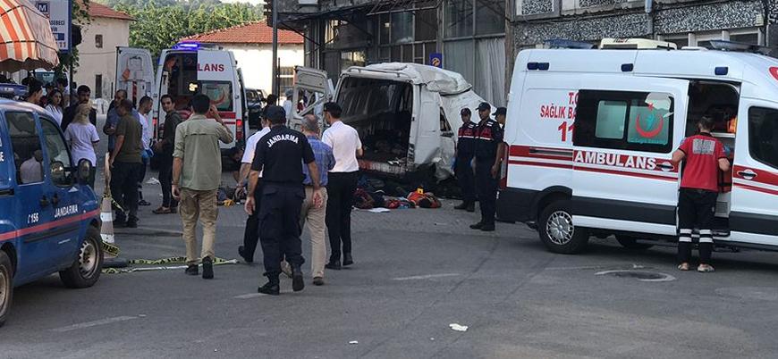 Edirne'de göçmenleri taşıyan araç kaza yaptı: 10 ölü 30 yaralı
