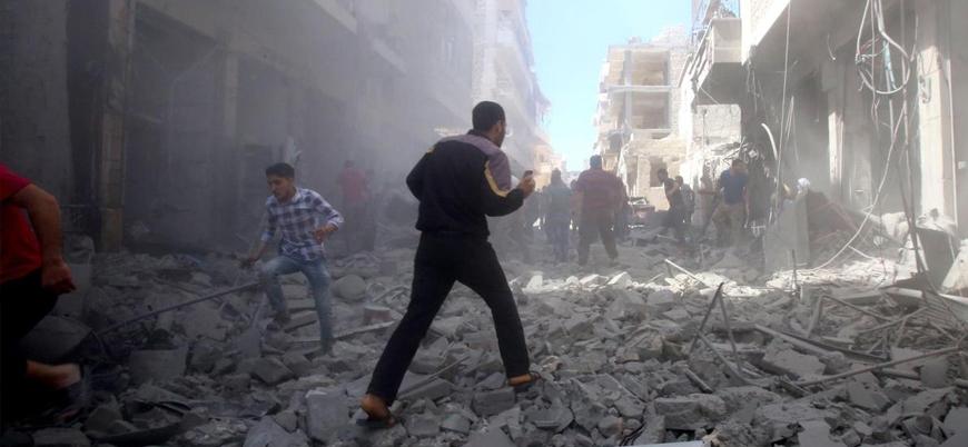 Rusya ve Esed rejimi İdlib'i vuruyor: 8 sivil yaşamını yitirdi