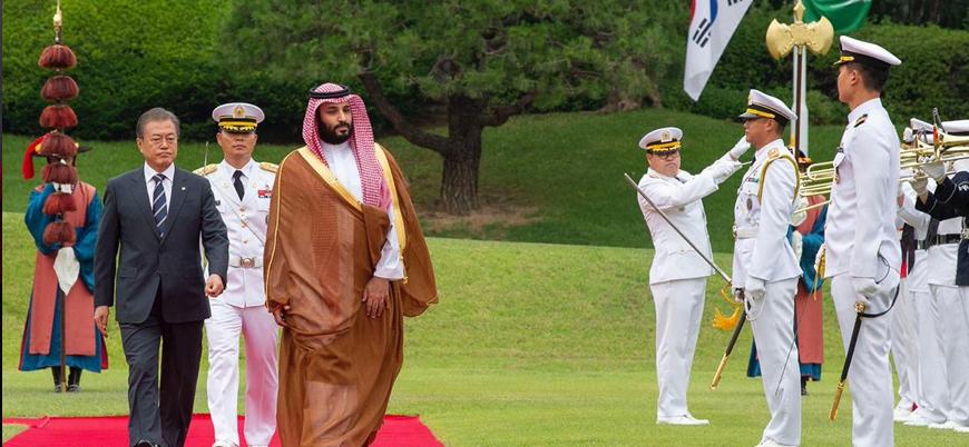 Suudi Arabistan Veliaht Prensi Muhammed bin Selman Güney Kore'de