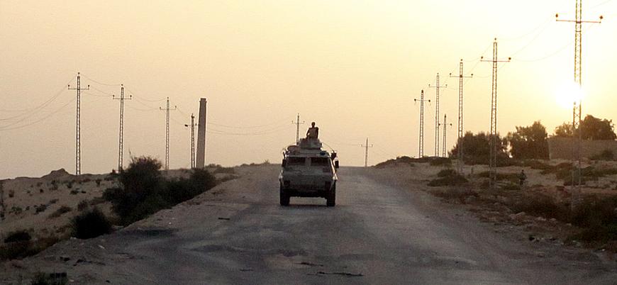 Sina Yarımadası'nnın kuzeyinde Mısır güçlerine saldırı: 8 polis öldü