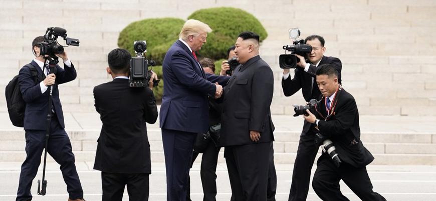 Trump-Kim görüşmesi: Kuzey Kore'ye ayak basan ilk ABD Başkanı