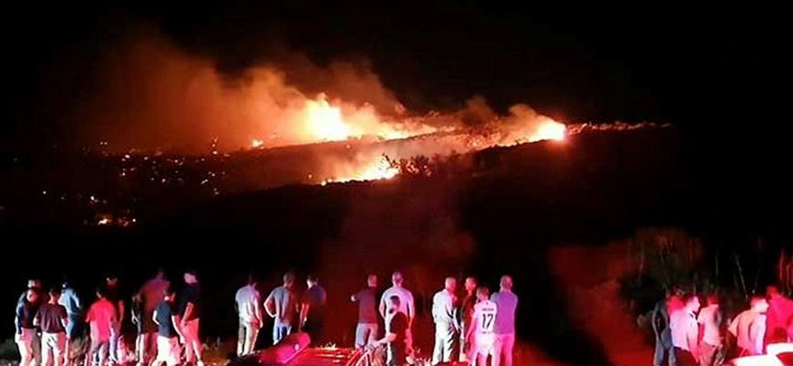 """""""Suriye'den atılan S-200 füzesi Kuzey Kıbrıs'a düştü"""""""