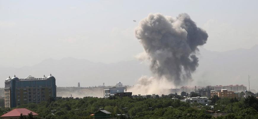 Afganistan'ın başkenti Kabil'de şiddetli patlama: Ölü ve yaralılar var