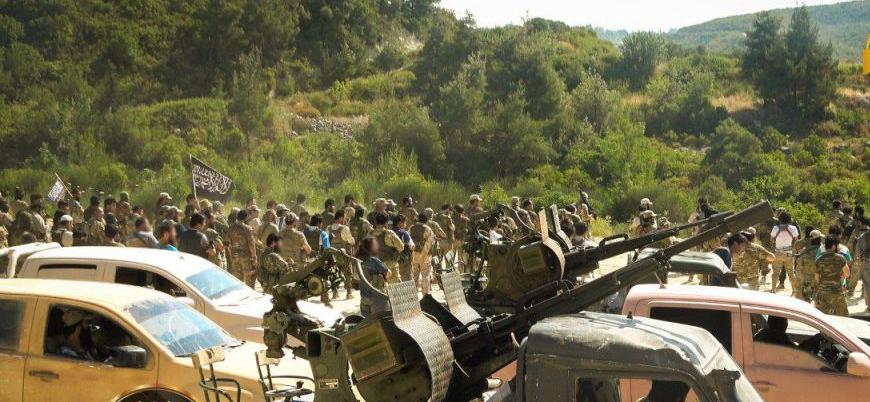 Türkistan İslam Partisi'nden Suriye'de 'gövde gösterisi'