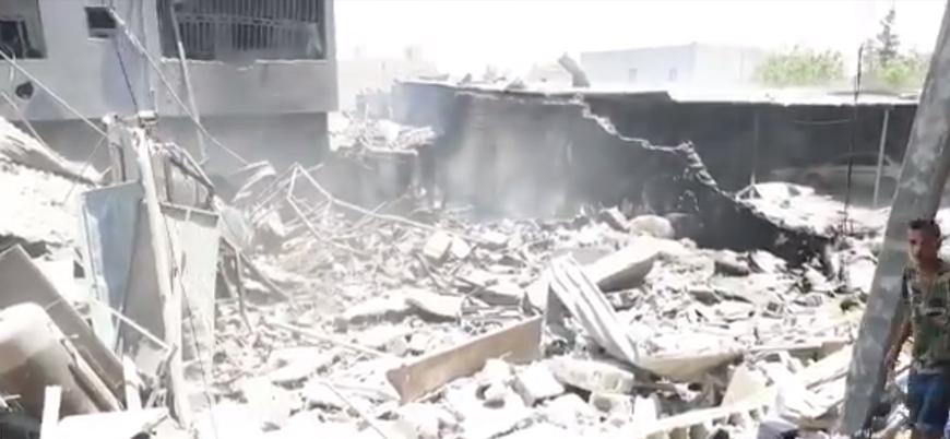 """""""BAE savaş uçakları Hafter'e destek için Trablus'ta hava saldırısı düzenledi"""""""