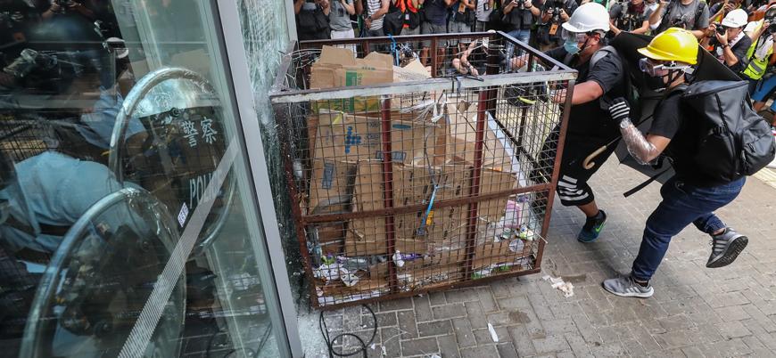 Çin ve İngiltere arasında Hong Kong krizi
