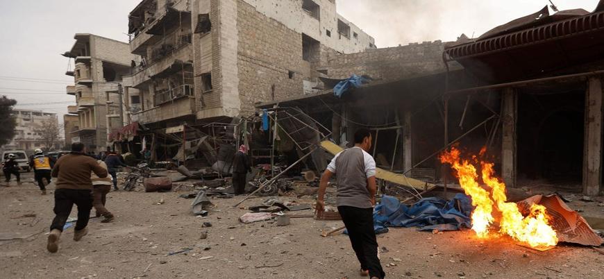 Rusya ve Esed rejimi sivilleri vurmaya devam ediyor