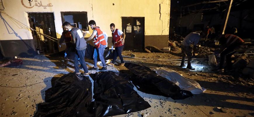 BM Libya'da göçmenlerin katledildiği hava saldırısını ABD nedeniyle 'kınayamadı'