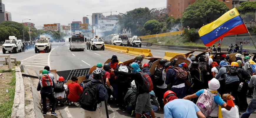 """""""Venezuela'da muhalifleri bastırmak için ölüm mangaları görevlendirildi"""""""