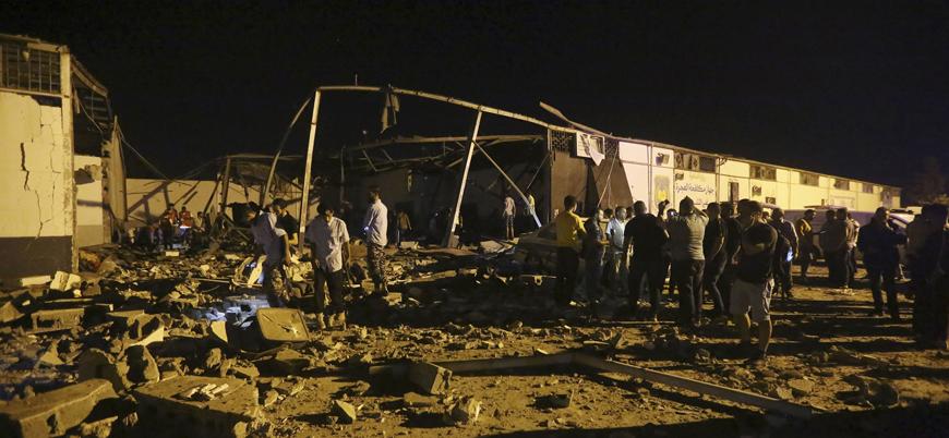 BMGK Libya'da sivillerin katledildiği saldırıyı kınadı