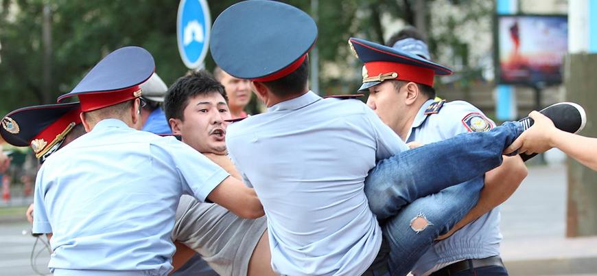 Kazakistan'da Nazarbayev karşıtı gösteriler