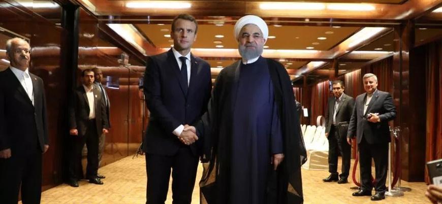 Macron'dan İran'a nükleer anlaşma uyarısı