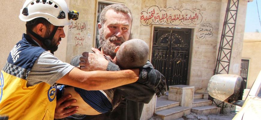 Rusya İdlib'de iki ayda 544 sivil öldürdü