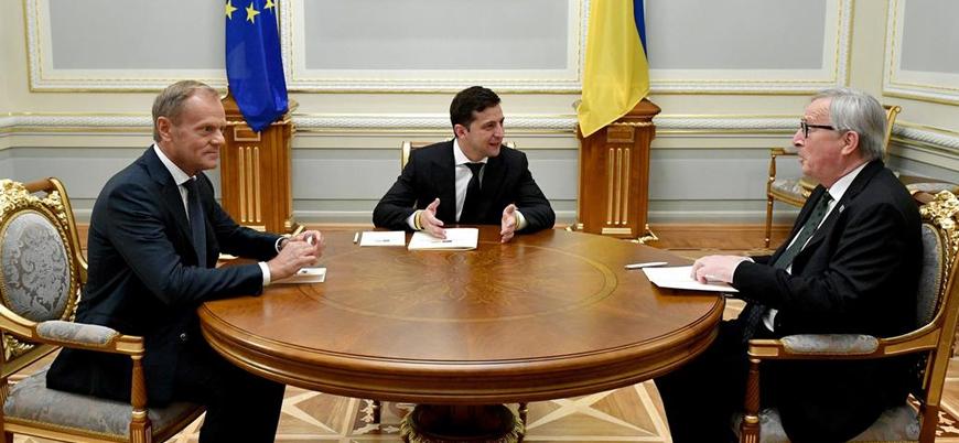 Ukrayna Devlet Başkanı'ndan Putin'e Kırım'ı görüşme teklifi