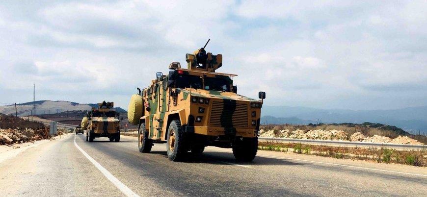 Türkiye'den İdlib'in güneyindeki çatışma hattına askeri sevkiyat