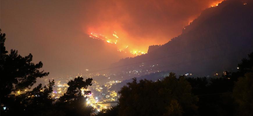 Muğla'daki orman yangınlarını PKK bağlantılı örgüt üstlendi