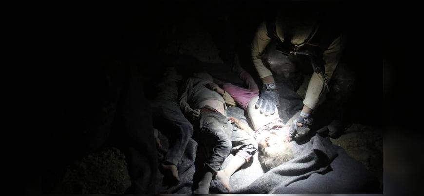 Rus savaş uçakları İdlib'de sivillerin sığındığı bölgeyi vurdu: 9 ölü