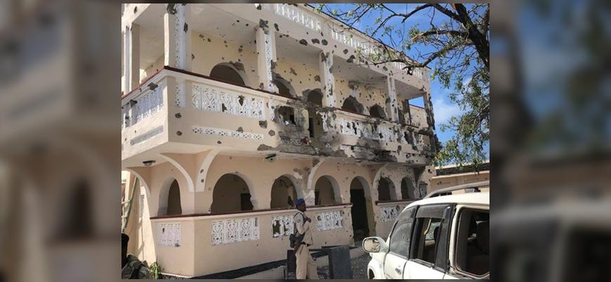 Eş Şebab'dan Somali'de yabancıların kaldığı otele bombalı saldırı