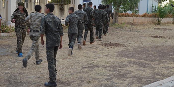 PKK/YPG'nin çocuk askerleri