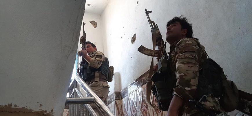 Afganistan'ın kuzeyinde Kabil hükümeti güçlerine Taliban saldırısı