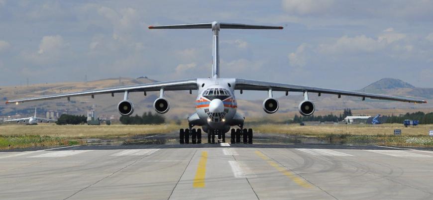 S-400 sevkiyatı sürüyor: 7'nci uçak Mürted'e indi