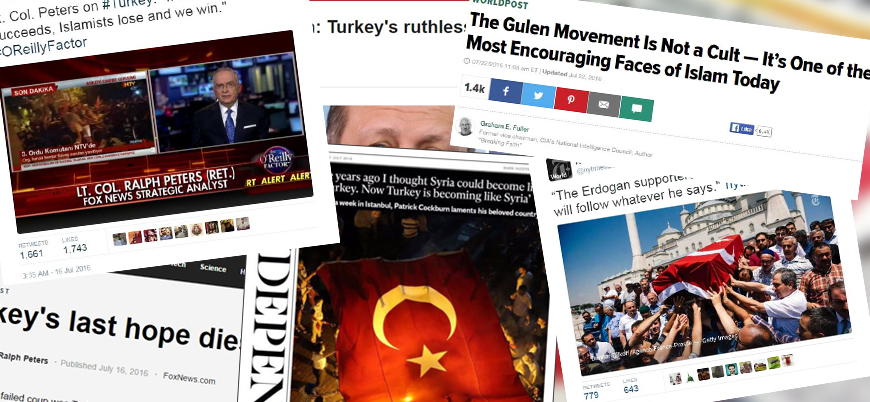 15 Temmuz askeri darbe girişiminin ardından Batı medyası ne söyledi?