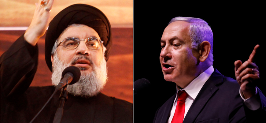 Hizbullah lideri Nasrallah'tan  İsrail'e tehdit: Her yere saldırabiliriz