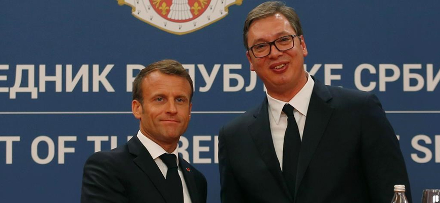 Sırbistan ve Kosova gerilimine Macron'dan arabuluculuk hamlesi