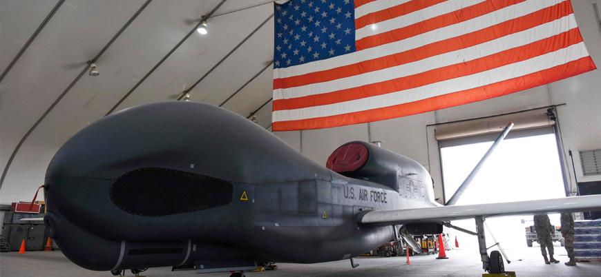 ABD: Hürmüz Boğazı'nda İran'a ait bir insansız hava aracını düşürdük