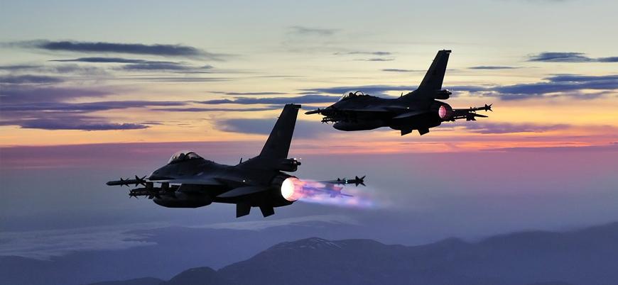 Erbil saldırısı sonrası TSK'dan Mahmur kampına hava operasyonu