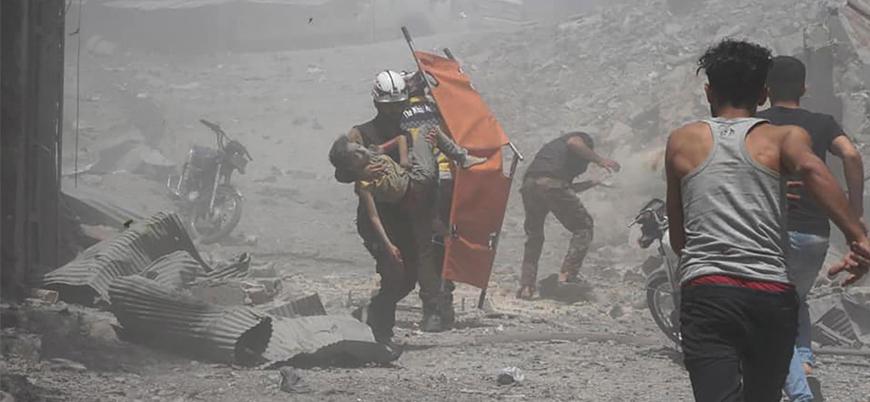 Rusya Suriye halkını göçe zorluyor: Siviller Cisr eş Şuğur'u tamamen boşalttı