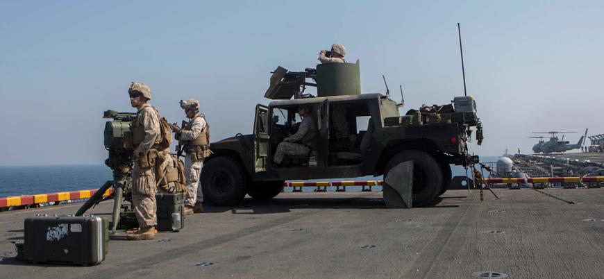 ABD ordusundan Körfez'de İran'a karşı operasyon ilanı