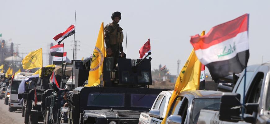 Irak'ta Haşdi Şabi'ye 'kimliği belirsiz' hava saldırısı