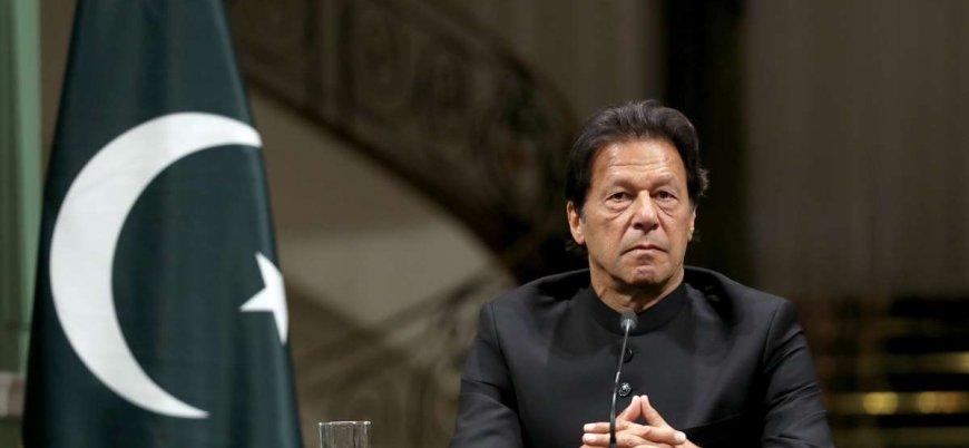 Pakistan Başbakanı İmran Han Genelkurmay Başkanı ve İstihbarat Başkanı ile ABD ziyaretinde
